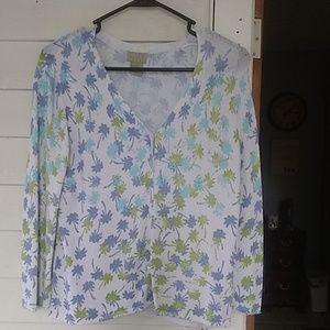 Sigrid Olsen v-neck cardigan sweater pictures that